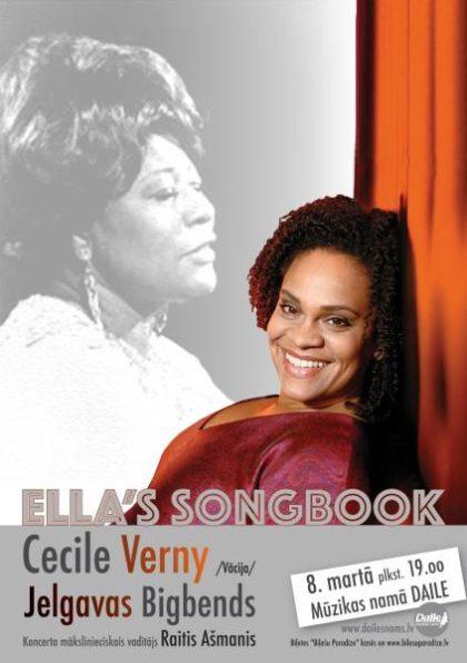 ELLAS SONG BOOK /Cecile Verny (Vācija) & Jelgavas Bigbends/