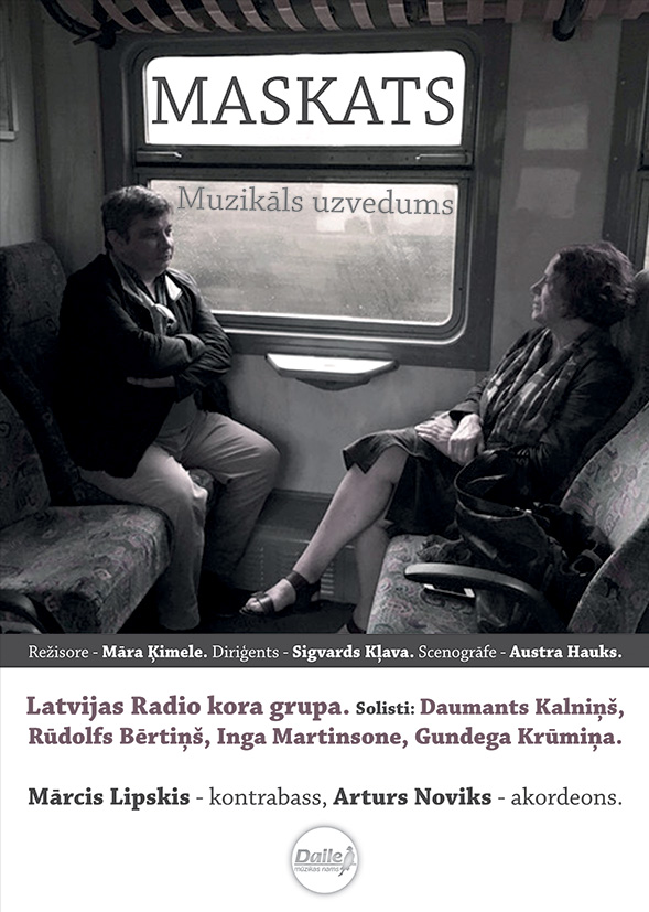 """7. decembrī pirmatskaņojums Artura Maskata Jubilejas koncertuzvedumam """"Maskats"""""""