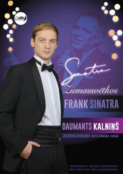 """Decembrī koncerti ar Daumantu Kalniņu """"Sinatra Ziemassvētkos"""""""